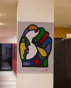 Mono González: FRANCIA DEL 13 de Marzo 2013 al 8 de Abril:TALLERES-CHARLAS-MURALES Expositions, Disney Characters, Fictional Characters, Graffiti, Street, Artist, Blog, Street Art, Mosaics