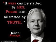 Julian Assange, who do our Governments work for the PEOPLE or is it the Military…