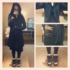 I've been playing favorites with these Marants. My other sneaks are getting jealous….                                 #dereklam #fur #vest #costumenational #jacket #zara #dress #hermes #enamel #isabelmarant  #wedgesneakers  #fashion  #wearingnow  (Taken with Instagram)
