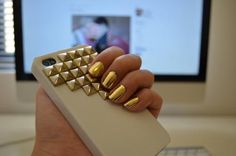 Gold Studded Phone