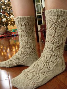Ravelry: Project Gallery for Flicker Sock pattern by Cookie A