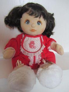 Ultra Mint My Child Mattel doll Brunette hair Original Nappy NR