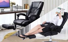 10 Best Most Comfortable Office Chair For Long Hours High quality affordable modern stylish office chair for multiple purposes of uses, durable and reliable best office chair for back pain and you can easily sit on chair for whole day you do not feel any pain in back or stress because we add hygienically proven home office chair. Most Comfortable Office Chair, Best Office Chair, Executive Office Chairs, Large Furniture, Furniture Styles, Furniture Making, Cool Furniture, Reclining Office Chair, Chair Bed
