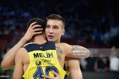 Bogdan Bogdanovic, #13 of Fenerbahce Istanbul at the end of the Turkish Airlines EuroLeague Final Four Semifinal A game between Fenerbahce Istanbul v Real Madrid at Sinan Erdem Dome on May 19, 2017 in Istanbul, Turkey.