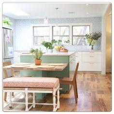 The kitchen-where all the magic happens