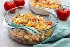 Salade piémontaise maison - Amandine Cooking Commerce, Pasta Salad, Picnic, Ethnic Recipes, Food, Vegetarische Rezepte, Cold Dishes, Crab Pasta Salad, Eten