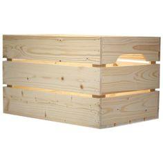 Lame vinyle composite hina blanc 122 x 18 cm castorama parquet pinterest - Caisse en bois castorama ...