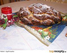 Vánočka paní Štěpánkové French Toast, Bread, Breakfast, Food, Morning Coffee, Brot, Essen, Baking, Meals