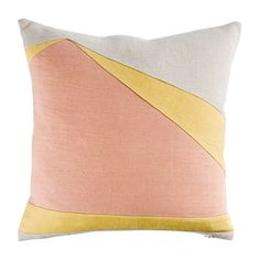 Those colours! Abstract Shard Cushion Cover Nude. The Conran Shop.