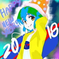 Happy New Year! Earth-chan by Kirisutomo