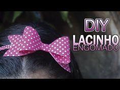 LACINHO ENGOMADO COM COLA | DIY - PASSO A PASSO - YouTube