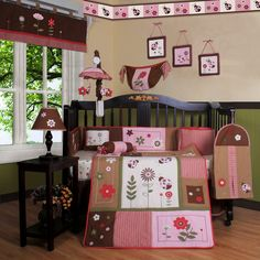 Shop Geenny  CRIB-CF-2043 Ladybug Flower 13-Pc Baby Bedding Set at ATG Stores. Browse our nursery bedding, all with free shipping and best price guaranteed.