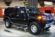 2008 H2 Hummer Black  NEW GOAL: get a black Hummer and rhinestone almost everything :)