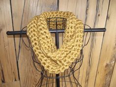 Check out this item in my Etsy shop https://www.etsy.com/listing/225241371/lovely-mustard-seed-infinity-scarf