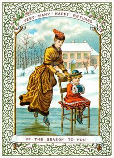 Victorian skating 1880s   Outdoor Ice Rinks
