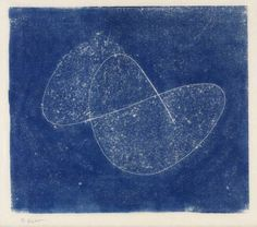 Opus 9 by Naum Gabo [1973] / Wood engraving on paper / Collection Tate