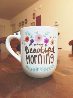 Coffee Mug Design Ideas dishwasher safe sharpie mug Diy Sharpie Mug