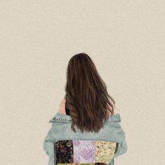 Flowery Wallpaper, Cute Disney Wallpaper, Cartoon Wallpaper, Aesthetic Art, Aesthetic Pictures, Girl Cartoon, Cartoon Art, Hugging Drawing, Flower Art Drawing