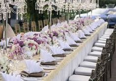 Image result for wedding table decorations