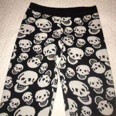 Sweater Skull Tights Sweater Skull Tights Love Culture Pants Leggings
