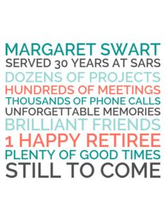 Generate a personalized retirement poster gift