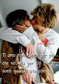Frasi sull'amore, immagini belle per Whatsapp - BelleImmagini.it I Like You, Love Words, Couple Goals, Sentences, Tumblr, Marriage, In This Moment, Couple Photos, Life