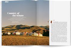 Newsweek Mongolia Feature Google Doodles, Mongolia, Art Director, Layout, Country, Illustration, Magazines, Travel, Future