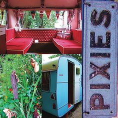 red #camper #caravan