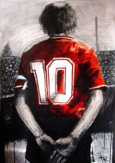 Messi, Soccer, Sports, Ariel, Passion, Loom Animals, Block Prints, Independent Tattoo, Garage Art
