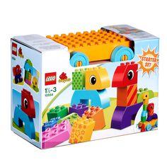 Lego Duplo Bricks & More 10554. Geheel nieuwe 'Bouwen en Slepen' set waarmee peuters creatief kunnen experimenteren en spelen! 16,50 euro bij TOYBRANDS