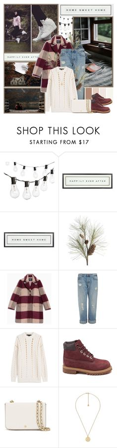"""""""My Hijab Style"""" by kokosh ❤ liked on Polyvore featuring Crate and Barrel, Vintage Playing Cards, Max&Co., J Brand, Alexander Wang, Timberland, Tory Burch and Gucci"""