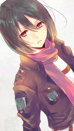 I really like Mikasa even though I am not an AOT fan but she is just so fu**ing badass.