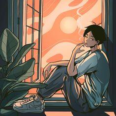 Haikyuu Manga, Haikyuu Fanart, Fan Art Anime, Arte Emo, Haikyuu Wallpaper, Another Anime, Ecchi, Hot Anime Guys, Image Manga