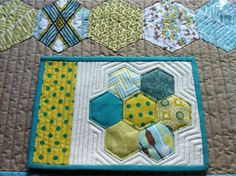 gorgeous mug rug received from Shirley- freidasews!! | Flickr - Photo Sharing!