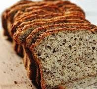 no carb breakfast bread: 2 large eggs 2 T of olive oil 1 T of vanilla 1 C of whole ground flax ½ tsp of baking soda ½ tsp of baking powder 1 packet . Banting Recipes, No Carb Recipes, Diet Recipes, Cooking Recipes, Bread Recipes, Primal Recipes, Paleo Meals, Paleo Food, Keto Foods