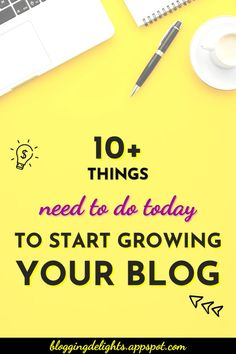 10+ Things You Need To Do Today To Start Growing Your Blog Is your blog not growing? Check out this post to know what you are doing wrong or missing out … blogging for beginners  , how to grow your blog , blogging tips ... #blogging101 #bloggingforbeginners #howtogrowyourblog #growyourblogtraffic #bloggingtips #growyourblog #bloggingdelights Make Money Traveling, Make Money Blogging, How To Make Money, Marketing Pdf, Internet Marketing Course, Blogging For Beginners, How To Better Yourself, Blog Tips, How To Start A Blog