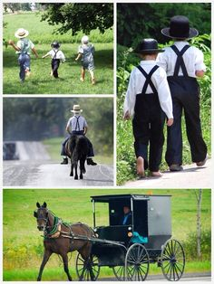 The Amish - Photos by Bill Coleman ~ Sarah's Country Kitchen ~ Amish Town, Church Fellowship, Amish Culture, Amish Community, Amish Quilts, Amish Country, Home And Away, Riding Helmets, Folk