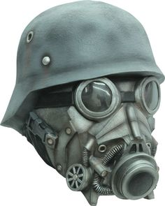 Chemical Warfare Gas Mask and Helmet Latex Halloween Head Mask Gas Mask Art, Masks Art, Gas Masks, Maske Halloween, Halloween Masks, Adult Halloween, Halloween Ideas, Funny Halloween, Halloween Halloween