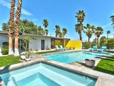 Mid-Century Wexler Pool HomeVacation Rental in Palm Springs from @HomeAway! #vacation #rental #travel #homeaway