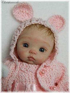Most Precious Ever OOAK BABY **AMBER** by Christine Shapiro Mint w/COA | Dolls & Bears, Dolls, Art Dolls-OOAK | eBay!