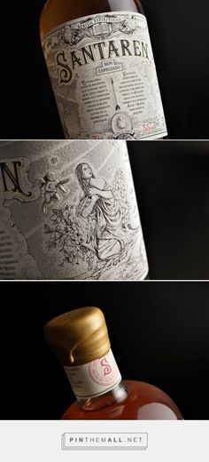 Santaren Spiced Rum | Estudio Maba - Diseño Gráfico y Comunicación Visual - created via https://pinthemall.net