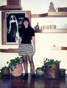Daniella Perez Na casa da mãe Glória Perez