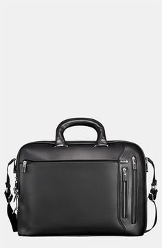 Tumi 'Arrive Narita' Slim Leather Briefcase | Nordstrom