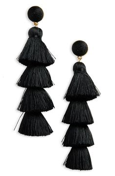 Antonella Tassel Fringe Earrings