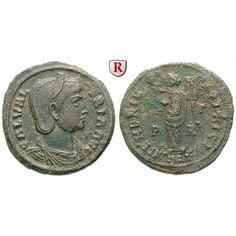 Römische Kaiserzeit, Galeria Valeria, Frau des Galerius, Follis 308-310, ss: Galeria Valeria, Frau des Galerius +315. AE-Follis 26… #coins