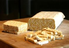 Basic Oven-Baked Marinated Tempeh
