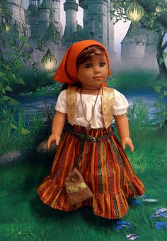 Wandering Gypsy Gypsy styled ensemble for by cupcakecutiepie, $72.00