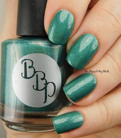 Bad Bitch Polish Demeter   Be Happy And Buy Polish https://behappyandbuypolish.com/2017/04/11/bad-bitch-polish-love-your-planet-nail-polish-collection-swatches-review/