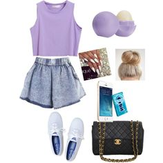 Untitled #329 by daijer123 on Polyvore featuring moda, Keds, Chanel, Eos and Lauren Conrad