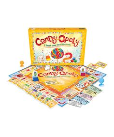 Junior Candy-Opoly Board Game by Late for the Sky #zulily #zulilyfinds
